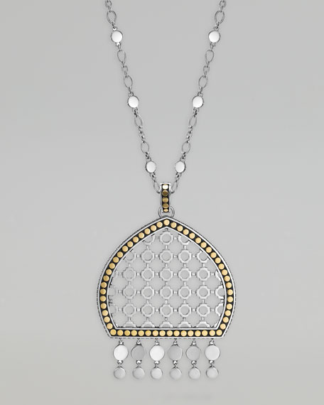 Dot Dome Pendant Necklace