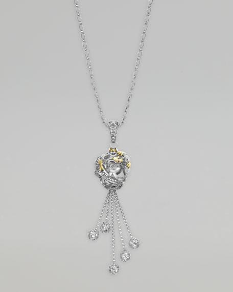 Naga Ball Pendant Necklace
