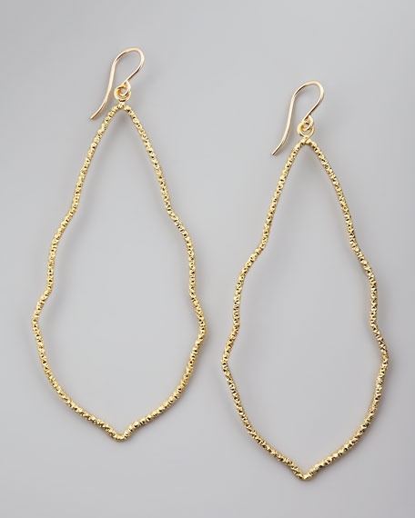 Sparkle Moroccan Earrings, Gold