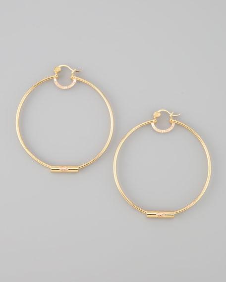 Simone I. Smith Yellow Gold Forever Hoop Earrings