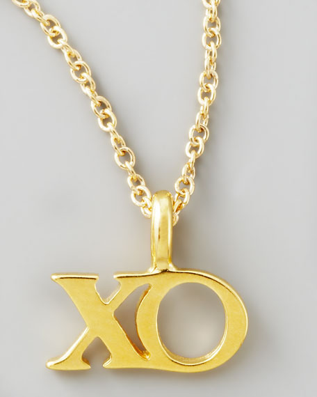 Hugs and Kisses Charm Necklace