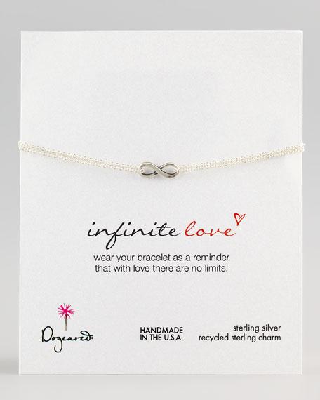 Infinite Love Bracelet, Silver