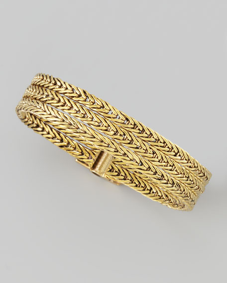 Venus Woven Chain Bracelet