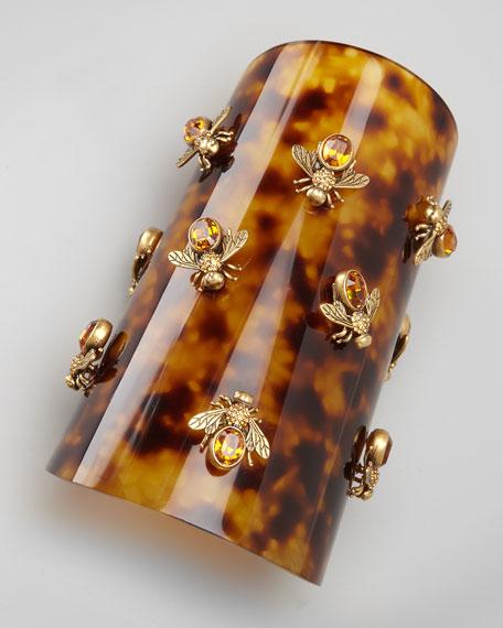 Bumblebee Tortoise Cuff