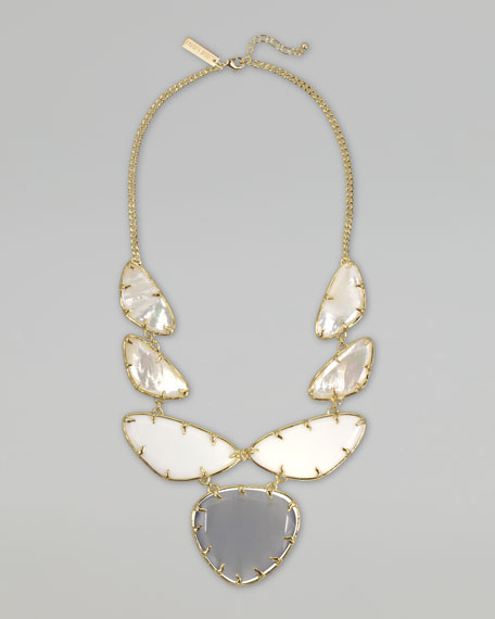 Marisol Necklace, Pearlescent