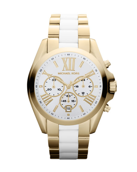 Mid-Size Two-Tone Bradshaw Chronograph Watch