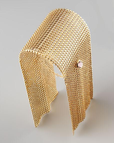 Draped Chain-Maile Bracelet