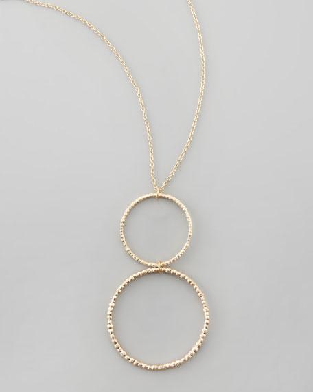 Double-Link Pendant Necklace