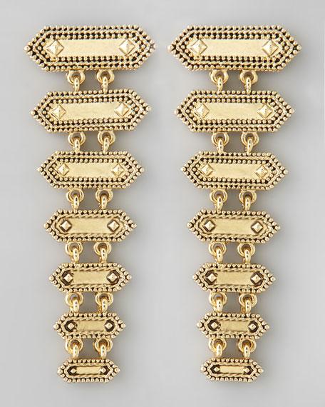 Tiered Boho Drop Earrings