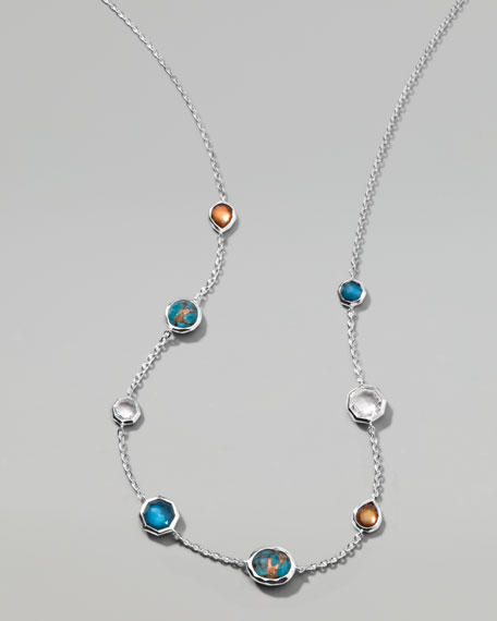"Wonderland Mini Gelato Necklace, 18""L"