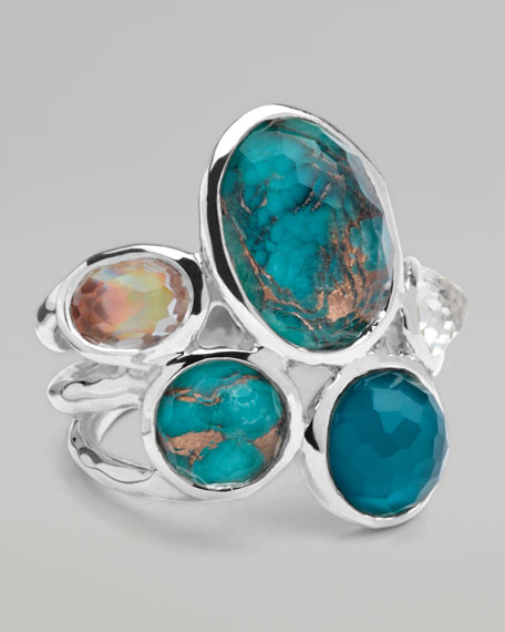 Wonderland Five-Stone Ring