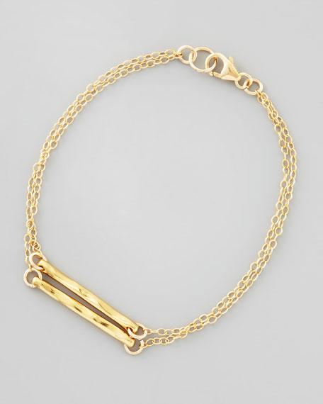 Taner Dagger Double-Chain Bracelet