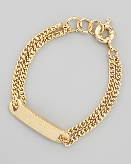 Chain Loop Standard Supply Bracelet, Golden