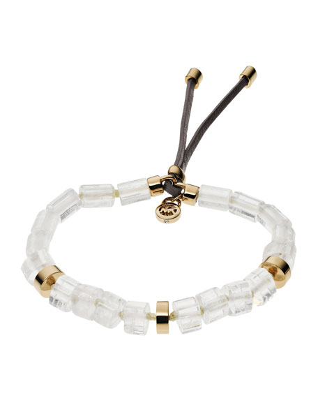 Stretch Quartz Bracelet, Golden