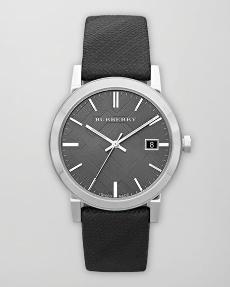 Beat Check Watch, Gray/Silver