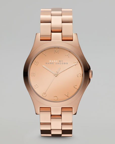 Rose Golden Watch, 36.5mm
