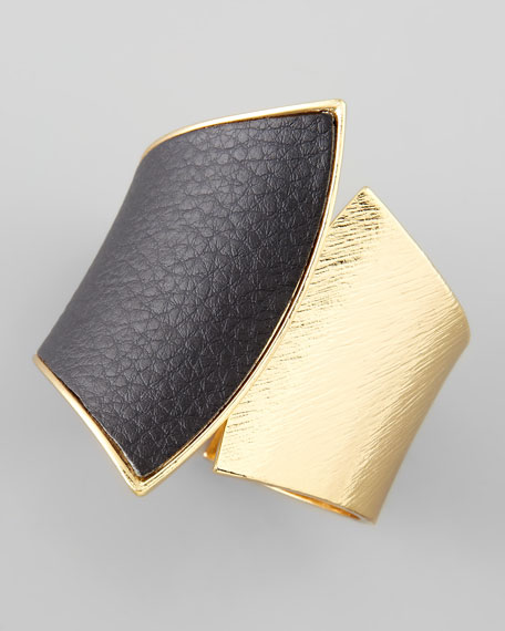 Leather Hinge Cuff