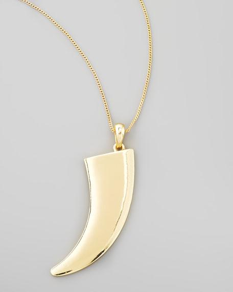 Safari Tusk Pendant Necklace