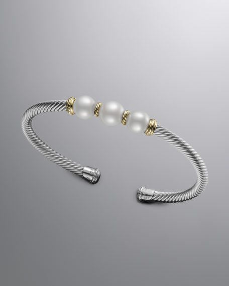 4mm Pearl Bracelet
