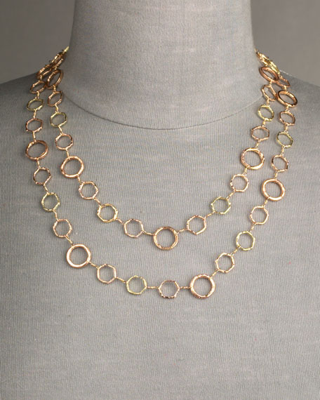 Gold Opera Necklace