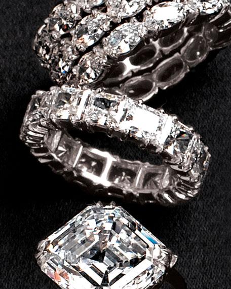 Eternity Ring, Princess-Cut