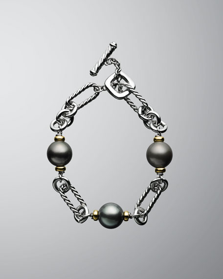 David Yurman Tahitian Pearl Bracelet