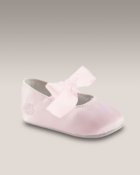 Briley Shoe, Pink Satin