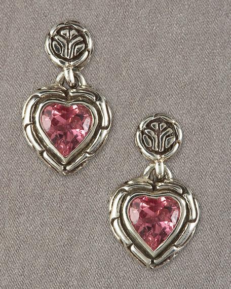 Asmara Heart Drop Earrings