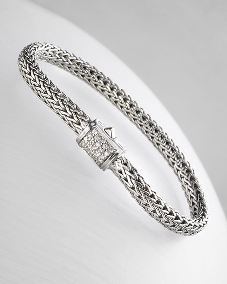 Pave Diamond Bracelet
