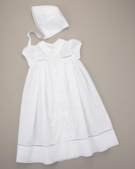 Gown & Bonnet Set