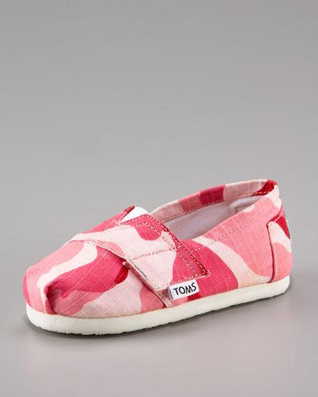 Girls' Camo Slip-On, Tiny