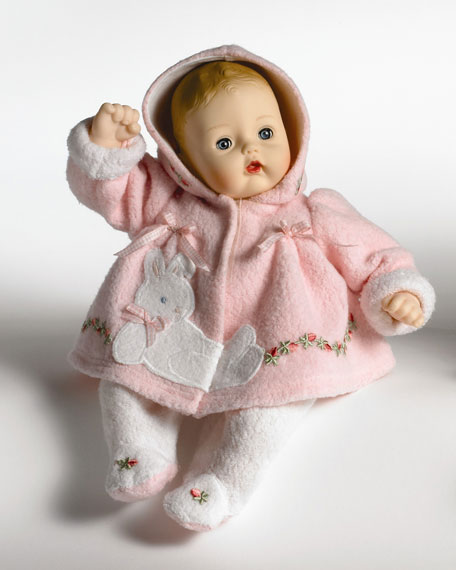 Pink Bunny Huggums Doll