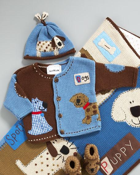 Boys' Spotty Dog Sweater