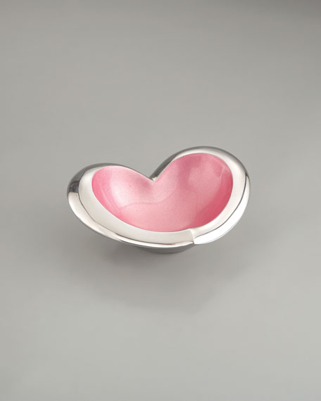 Heart Bowl, Pink
