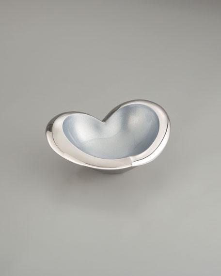 Heart Bowl, Blue