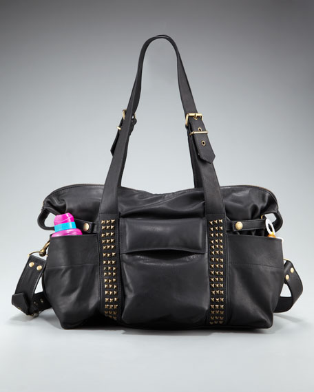 Hansel Studded Diaper Bag