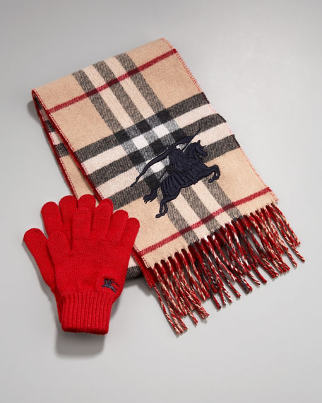 Scarf and Mitten Set
