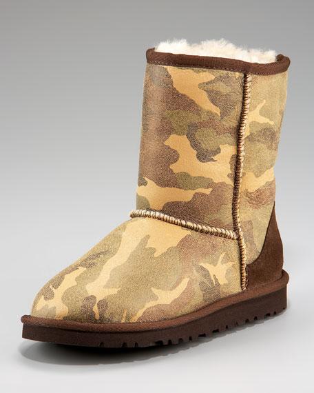 Camo Short Boot