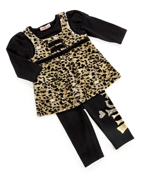 Three-Piece Leopard Set