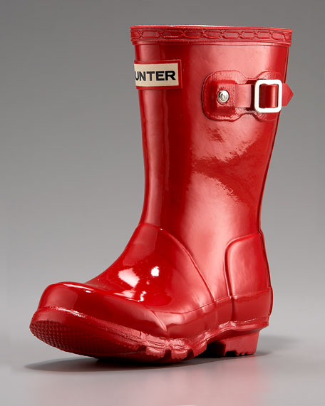 Original Young Gloss Rain Boot, Red
