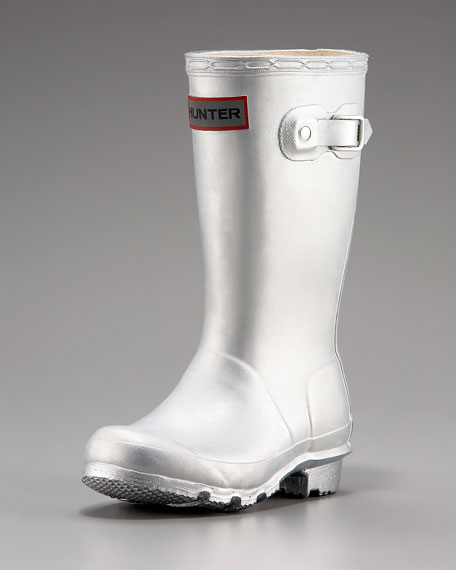 Original Young Rain Boot, Silver