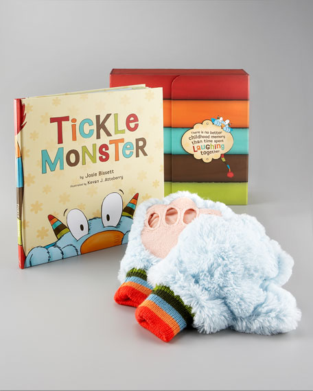 Tickle Monster Gift Set