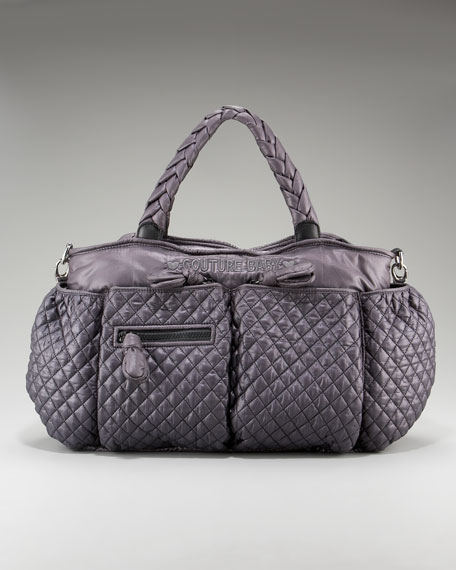 Quilted Nylon Baby Tote