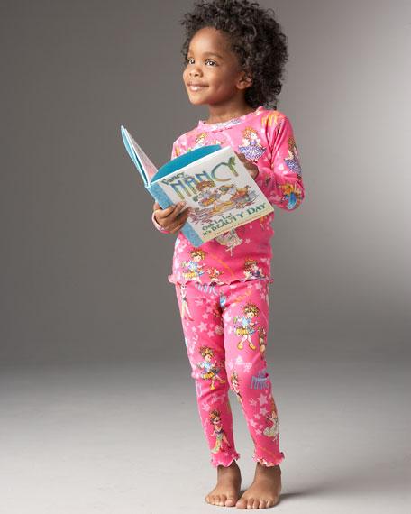 Fancy Nancy Book & Pajama Set, Sizes 2-3T