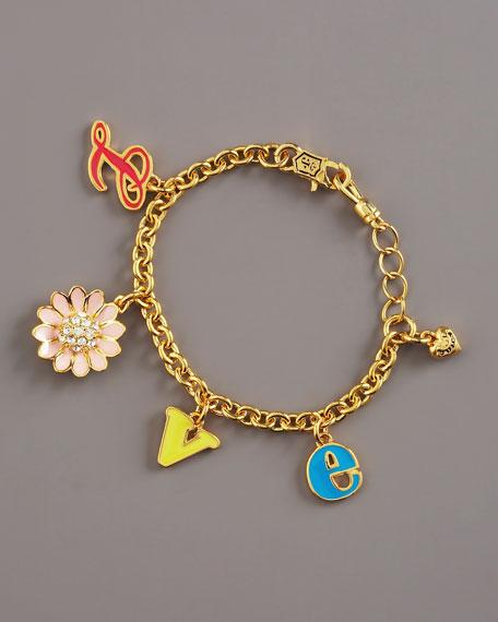 Girls' Love Charm Bracelet