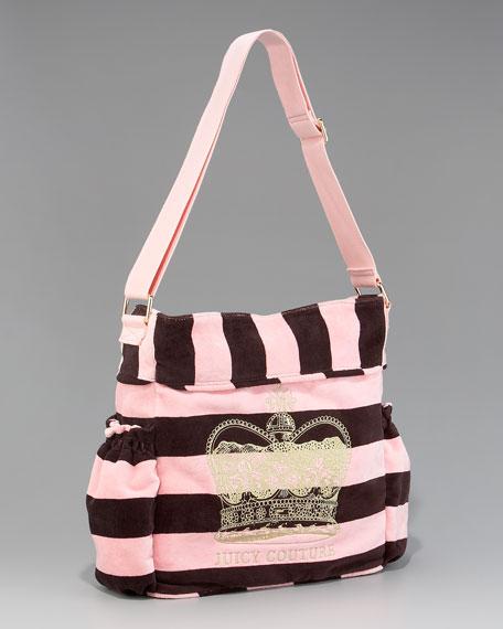 Striped Stroller Bag