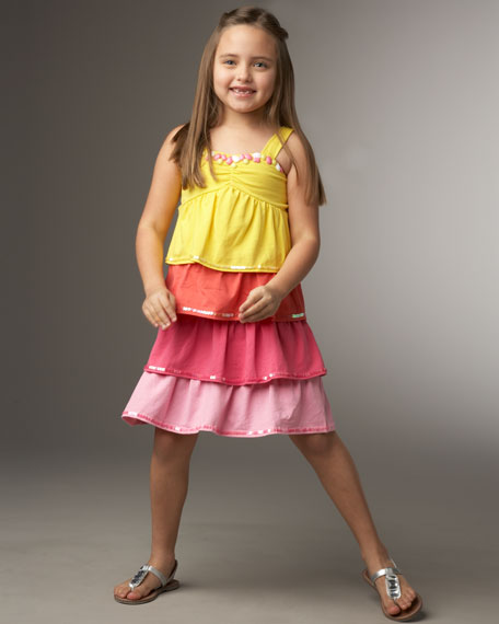 Haven Girl Tiered Dress, Sizes S-L