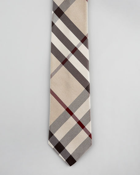 Check Tie, Smoked Trench