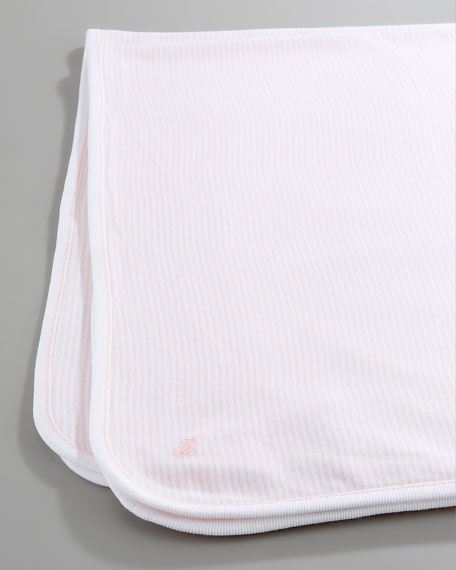 Striped Blanket, Morning Pink