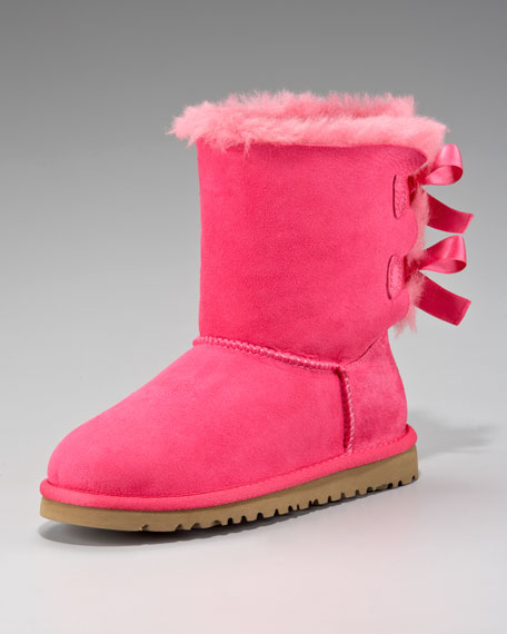 Pink Bailey Bow-Back Boot, Youth